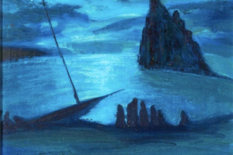 Albert-Friscia-1952-moonlight-ischia-1024x792